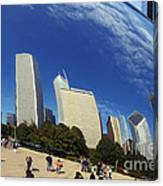 Cloud Gate Millenium Park Chicago Canvas Print