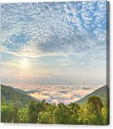 Cloud Sea Canvas Print
