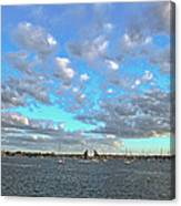 Cloud View From The Old Fort Canvas Print