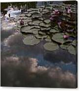 Clouded Pond Canvas Print
