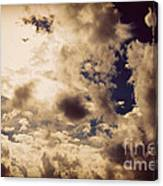 Clouds-8 Canvas Print