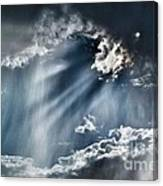 Clouds And Sky Canvas Print