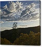 Clouds At Sunset II Canvas Print