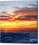 Clouds From Haven. Canvas Print