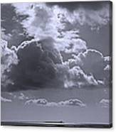 Clouds Gathering Canvas Print
