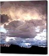 Clouds Natural Art Canvas Print