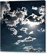 Clouds On A Sunny Day Canvas Print