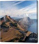 Clouds On The Ridge Canvas Print