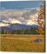 Clouds Over Algonquin Mountain Canvas Print