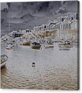 Clouds Over Brixham Canvas Print