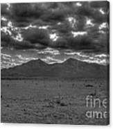 Clouds Over Capitan Canvas Print