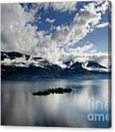 Clouds Over Islands Canvas Print