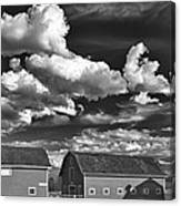 Clouds Over Knox 13804b Canvas Print