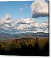 Clouds Over New Hampshire Canvas Print
