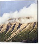 Clouds Over Porphyry Mountain Canvas Print