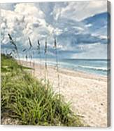 Clouds Over The Ocean Canvas Print