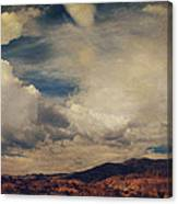 Clouds Please Carry Me Away Canvas Print