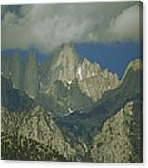 Clouds Shadow Rocky Mountain Peaks Canvas Print