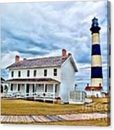 Cloudy At Bodie Canvas Print