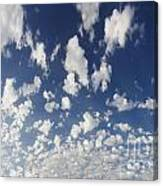 Cloudy Sky Canvas Print