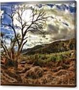 Cloudy Valley  Canvas Print