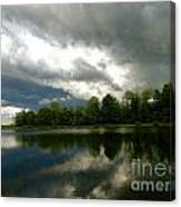 cloudy with a Chance of Paint 4 Canvas Print