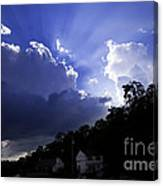 Cloudy With A Chance Of Sunshine Canvas Print