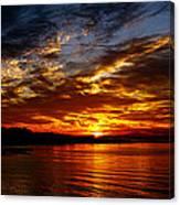Clover Point Sunrise Canvas Print