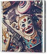 Clown Bank Canvas Print