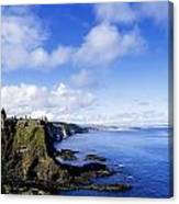 Co Antrim, Dunluse Castle Canvas Print