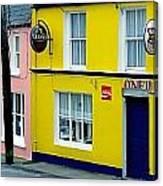 Co Cork, Eyeries Village In The Rain Canvas Print