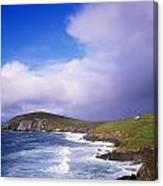 Co Kerry - Dingle Peninsula, Dunmore Canvas Print
