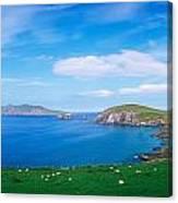 Co Kerry, Dingle Peninsula, Slea Head & Canvas Print