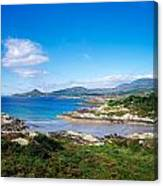 Co Kerry, Ring Of Kerry, Castlecove Canvas Print