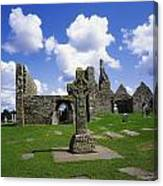 Co Offaly, Clonmacnoise Canvas Print