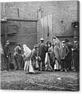 Coal Line, Nyc; 1902 Canvas Print