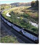 Coal Train - Johnstown  Canvas Print