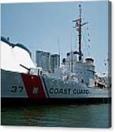 Coast Guard History  Canvas Print