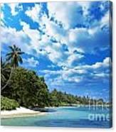 Coast Of Indian Ocean Canvas Print