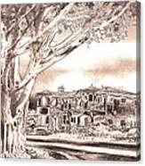 Coastal Architecture Canvas Print