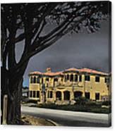 Coastal Architecture One Canvas Print
