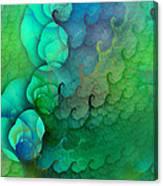 Coastal Waves Canvas Print
