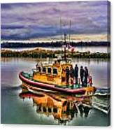 Coastguard Hdr Canvas Print