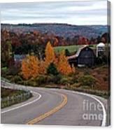 Coasting Through Autumn Canvas Print