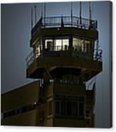 Cob Speicher Control Tower Canvas Print