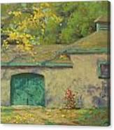 Cobblestone Barn Canvas Print