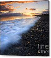 Cobblestone Sunset Canvas Print
