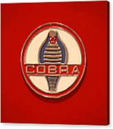 Cobra Emblem Canvas Print