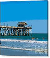 Cocoa Beach Pier Florida Canvas Print