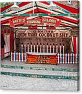 Coconut Shy Canvas Print